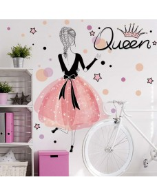 Wallstickers -  Dronning