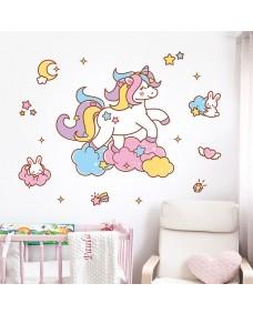 Wallstickers -  Happy Unicorn