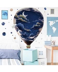 Wallstickers -  Natthimmelballonen