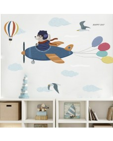 Wallstickers -  Bære i fly