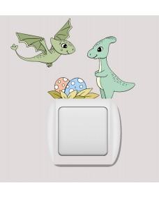 Switch sticker -  Dino