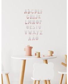 WALLSTICKERS -  Regnbuer i akvarel