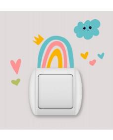 Switch sticker -  Regnbue