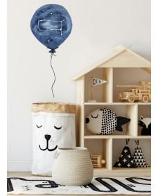 Wallstickers - Stjerne ballon Tvillingen