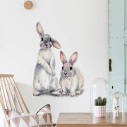 Wallstickers  -  Kaniner