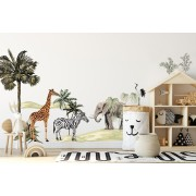 Wallstickers- Grand Safari XL