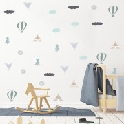 WALLSTICKERS -  Eventyrmønster