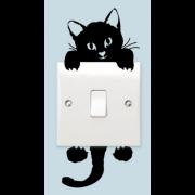 Switch sticker -  Sort kat
