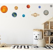 Wallstickers - Solsystemet